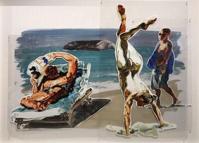 Eric Fischl, 'Untitled (Handstand)', 2017