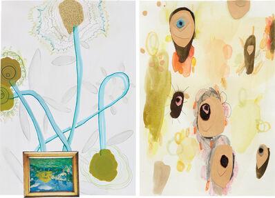 Laura Owens, 'Two Works: (i-ii) Untitled', 2000