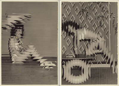 Kensuke Koike, 'Indirect Approach (Diptych)', 2013