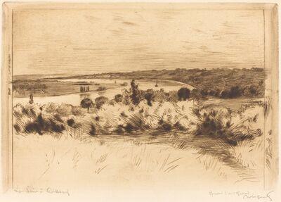 Norbert Goeneutte, 'The Seine at Quilleboeuf (La Seine a Quilleboeuf)'