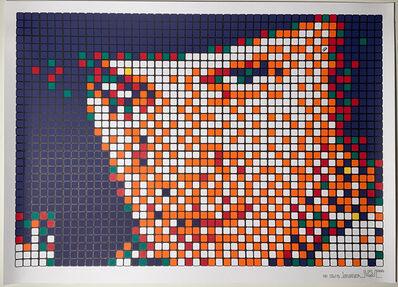 Invader, 'Rubik Kubrick I Alex', 2006