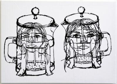 Ron Ewert, '2 Figures', 2015