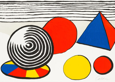 Alexander Calder, 'The Birth of the Unexpected', 1976