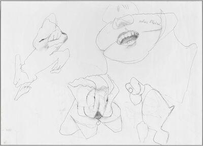 Maria Lassnig, 'Ohne Titel', ca. 2000 -2009