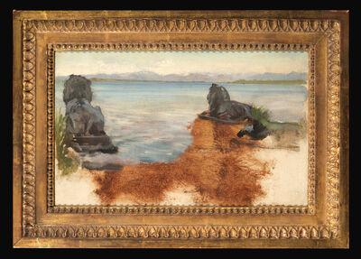 Sir Lawrence Alma-Tadema, 'A Lake in Bavaria'
