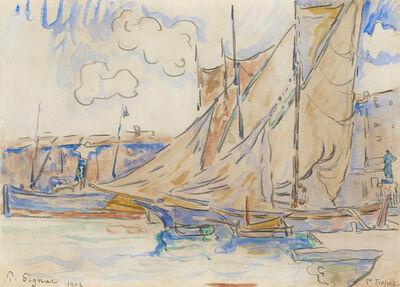 Paul Signac, 'Le port de Saint-Tropez', 1902