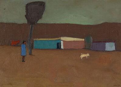 Manuel Reyna, 'FIGURA AL RANCHERA', 1973