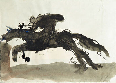 Mario Sironi, 'Knight', ca. 1932