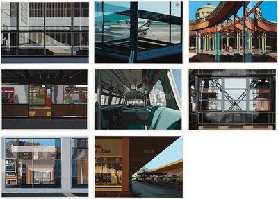 Richard Estes, 'Urban Landscapes No. 3 (A. pp. 121-3)', 1981