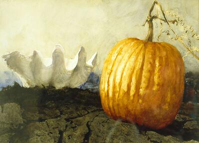 Jamie Wyeth, 'Pumpkin and Shell', 1989