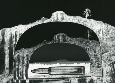 John Wood, 'Gun Landscape: Butte Landscape'