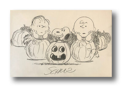 Charles M. Schulz, 'Waiting for the Great Pumpkin', ca. 1966