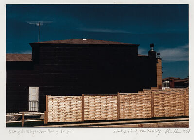 Dan Graham, 'Side of Building in New Housing Project, Staten Island, New York City', 1978