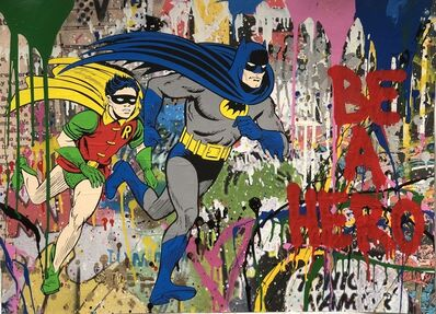 Mr. Brainwash, 'Batman & Robin', 2018