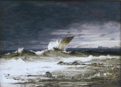 Peder Balke, 'Seascape', about 1860