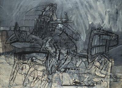 Valerio Adami, 'Isterismo collettivo', 1961