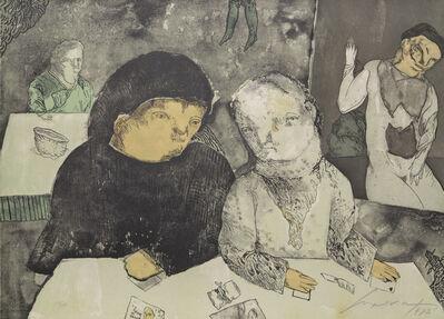 Jose Luis Cuevas, 'Papeles de Salazar', 1983