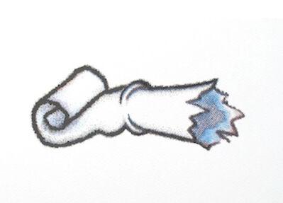 Ana Prada, 'Toothpaste tube-broken bottle neck #3', 2014
