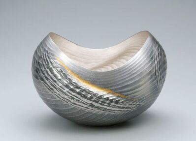 Osumi Yukie, 'Silver Vase (Strait) ', 2013