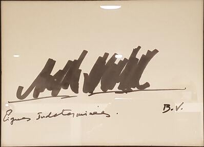 Bernar Venet, 'Lignes Indeterminees', 2007