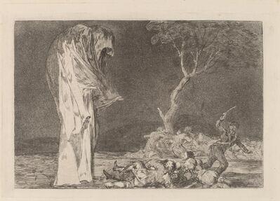 Francisco de Goya, 'Disparate de miedo (Folly of Fear)', in or after 1816