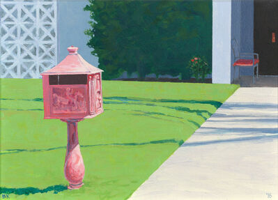 Bruce Kimerer, 'pink Mailbox', 2016