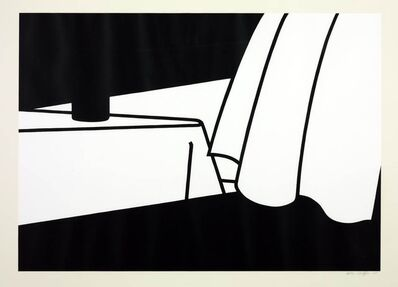 Patrick Caulfield, 'Curtain and Bottle (Cristea 34)', 1974