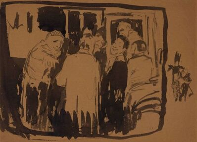 Édouard Vuillard, 'Au Theatre Antoine', circa 1889