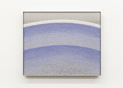 Mimi Jung, '121317 Pale Blue Ellipses', 2020