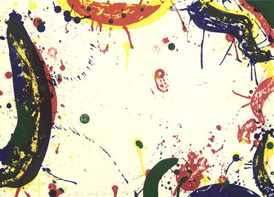 Sam Francis, 'Sun Up', 1964
