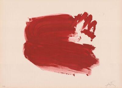 Antoni Tàpies, 'Clau del Foc IV', 1970-1980