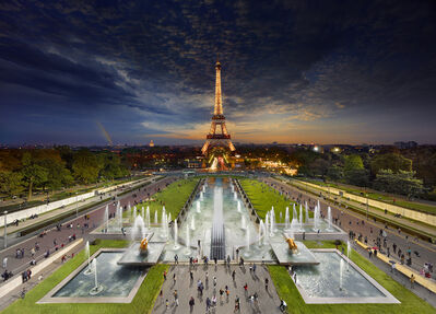 Stephen Wilkes, 'Eiffel Tower, Paris', 2013