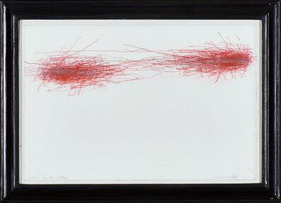 William Anastasi, 'Subway Drawing, 4.3.11', 2011