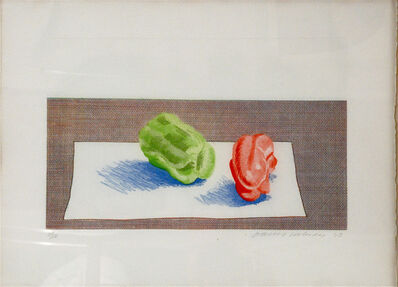 David Hockney, 'Two Peppers', 1973