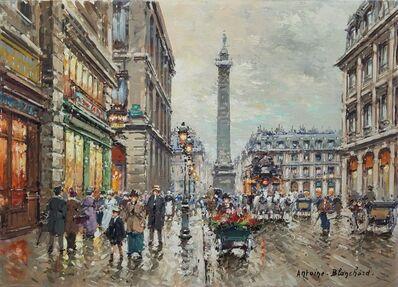 Antoine Blanchard, 'Place Vendrome, Paris, France', ca. 1955