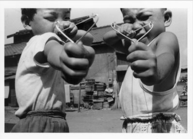 Nobuyoshi Araki, 'Satchin and His Brother Mabo', 1963-1965