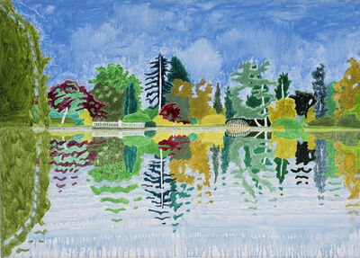 Adrian Berg, 'First Lake, Sheffield Park Gardens, Sussex Weald, 12th & 26th September', 2004