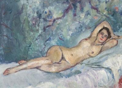 Charles Camoin, 'Nu Allongée', 1924
