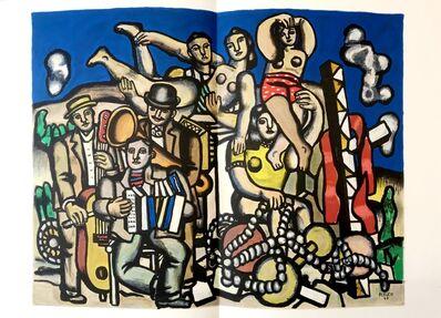 Fernand Léger, 'Les Musiciens', 1960