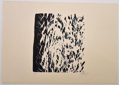 Günther Uecker, 'Baum', 1984