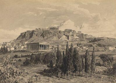 Themistocles von Eckenbrecher, 'Temple of Hyphaestus', 1890