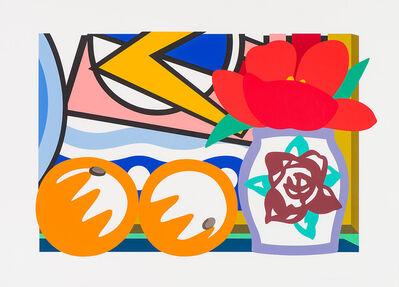 Tom Wesselmann, 'Lot 322 Still Life with Lichtenstein and Two Oranges (from Portfolio 90)', 1993