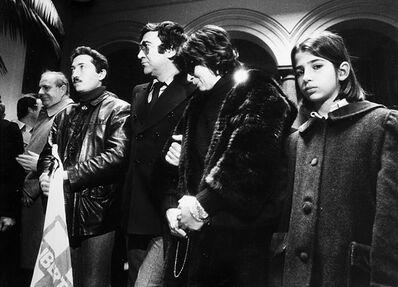 Letizia Battaglia, 'Funerale DC Michele Reina, Palermo', 1979