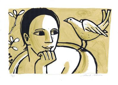 Anita Klein PPRE, 'Lady with Dove', 2016
