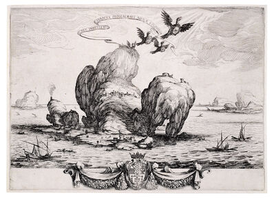 Jacques Callot, 'Le Grand Rocher', 1623