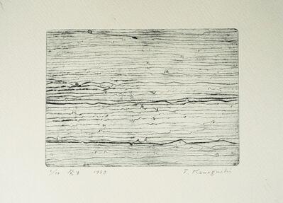 Tatsuo Kawaguchi, 'Occurrence', 1963
