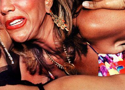Jessica Craig-Martin, 'Cancer Benefit, Southampton (Air Kiss)', 2008