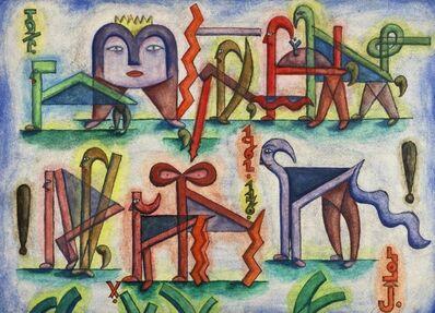Xul Solar, 'Teo María', 1962