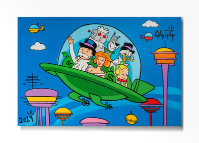 Alec Monopoly, 'Monopoly Team at Jetsons', 2020