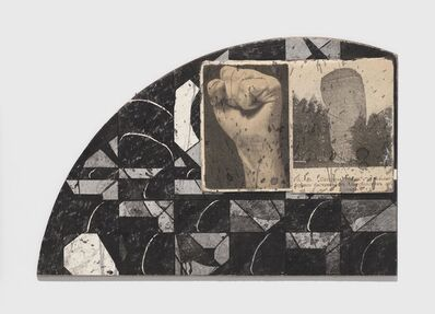 Ray Johnson, 'Untitled (Fist Building Correspondence)', n.d.